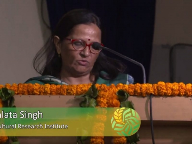 Enhancing nutritional security and gender empowerment: The role of extension - Dr. Premlata Singh