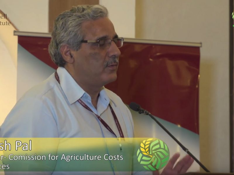 How government policies can promote food system diversification - Dr. Suresh Pal