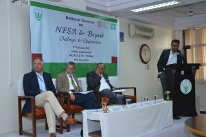 Policy Seminar on India's National Food Security Act - February 3, 2017