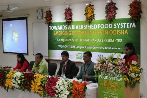 State Policy Dialogue on Diversifying Food Systems in Odisha - July 19, 2017